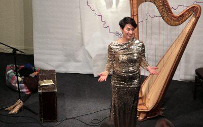 Muziektheater 'De Grens' door Ekaterina Levental, mezzosopraan en harpiste op 5 oktober 2018