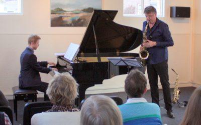 Concert Niels Bijl en Martijn Blaak op 20 januari in Cultureel Podium Bornse Synagoge